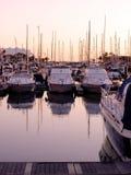 Puerto deportivo en Vilamoura Imagen de archivo