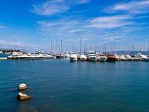 Puerto deportivo - fractura Imágenes de archivo libres de regalías