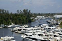 Puerto deportivo interior Fotografía de archivo libre de regalías
