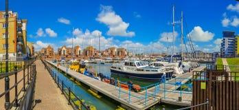 Puerto deportivo soberano del puerto, Eastbourne, Sussex del este, Inglaterra imágenes de archivo libres de regalías