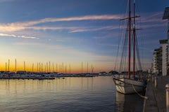 Puerto deportivo Suecia de Helsingborg Fotos de archivo