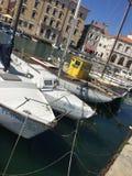 Puerto deportivo viejo Imagen de archivo