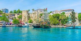 Puerto deportivo viejo del ` s de Antalya Imagen de archivo libre de regalías