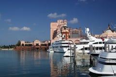Puerto deportivo y centro turístico de lujo foto de archivo libre de regalías