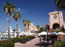 Puerto deportivo y centro turístico de lujo fotos de archivo
