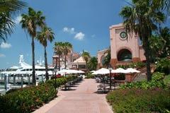 Puerto deportivo y centro turístico de lujo imagen de archivo libre de regalías