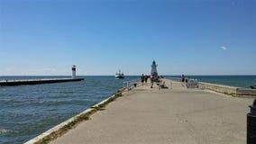 Puerto Dover, Ontario Imágenes de archivo libres de regalías