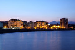 Puerto Duquesa at dusk. Spain Royalty Free Stock Image