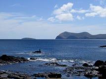 Puerto Egas, pagos do ¡ de Galà Imagem de Stock