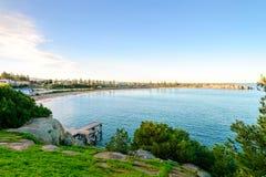 Puerto Elliot Jetty, sur de Australia Imágenes de archivo libres de regalías