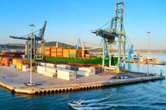 Puerto en Ancona, Italia Imágenes de archivo libres de regalías