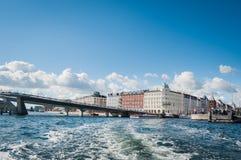Puerto en Copenhague Fotos de archivo
