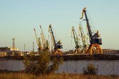 Puerto en el Mar Negro Imagen de archivo