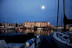 Puerto en Francia Imágenes de archivo libres de regalías