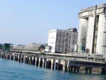 Puerto en la costa africana del este Foto de archivo