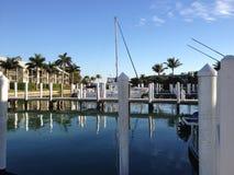 Puerto en la Florida Fotografía de archivo libre de regalías