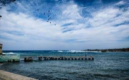 Puerto en La Habana vieja Fotografía de archivo libre de regalías