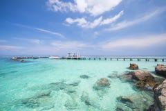Puerto en Mai Ton Island Fotos de archivo libres de regalías