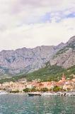 Puerto en Makarska Imagenes de archivo