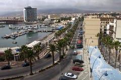 Puerto en Melilla Foto de archivo libre de regalías