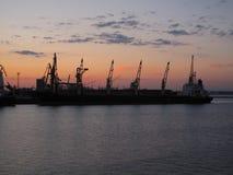 Puerto en Odessa Fotografía de archivo libre de regalías