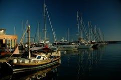 Puerto en Roma, Italia Fotografía de archivo libre de regalías