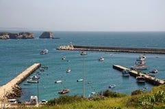 Puerto en Sagres Fotografía de archivo libre de regalías
