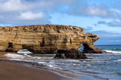 Puerto Ergas - Santiago Island Stock Image