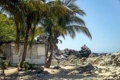 Puerto Escondido, Мексика Стоковая Фотография RF