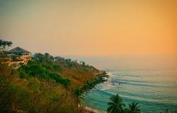 Puerto escondido, oaxaca mexico. Beautiful afternoon views Stock Image