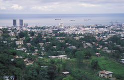 Puerto España, Trinidad Imágenes de archivo libres de regalías