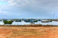 Puerto Esperanza, Cuba imagens de stock