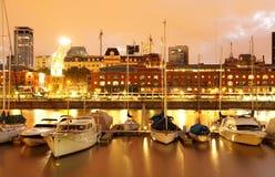 puerto för airesbuenosmadero Fotografering för Bildbyråer
