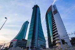 Puerto financiero de Bahrein Fotografía de archivo libre de regalías