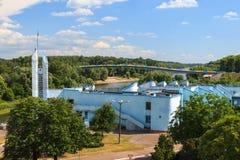 Puerto fluvial Imagen de archivo