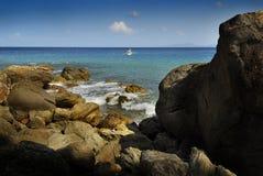 Puerto Galera Stockbild