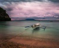 Puerto Galera Filippinerna fotografering för bildbyråer
