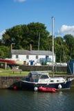 Puerto Gloucestershire de Lydney Fotografía de archivo libre de regalías