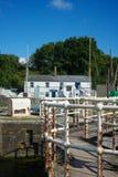 Puerto Gloucestershire de Lydney Foto de archivo libre de regalías
