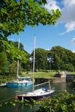 Puerto Gloucestershire de Lydney Foto de archivo