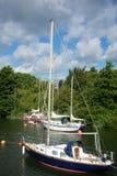 Puerto Gloucestershire de Lydney Imagen de archivo libre de regalías