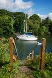 Puerto Gloucestershire de Lydney Imágenes de archivo libres de regalías