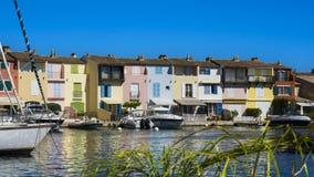 Puerto Grimaud en Francia fotos de archivo libres de regalías