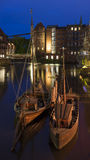 Puerto histórico de Luneburg Fotos de archivo libres de regalías