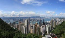 Puerto Hong-Kong de Victoria Imagenes de archivo