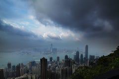 Puerto Hong-Kong de Victoria Foto de archivo libre de regalías