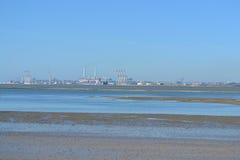 Puerto industrial Imagen de archivo libre de regalías