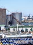 Puerto industrial de la escena de Sunderland Foto de archivo