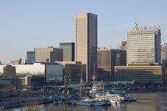 Puerto interno, Baltimore Foto de archivo