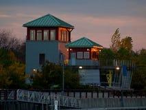 Puerto interno de Syracuse Imagen de archivo libre de regalías